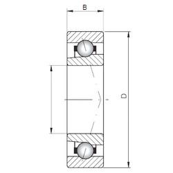 ISO 71922 A angular contact ball bearings