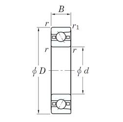 110 mm x 150 mm x 20 mm  KOYO 3NC HAR922C FT angular contact ball bearings