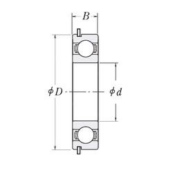 110 mm x 150 mm x 20 mm  CYSD 6922NR deep groove ball bearings