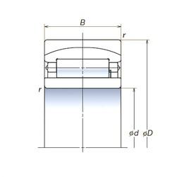 190 mm x 340 mm x 120 mm  NSK 190RUB32 spherical roller bearings
