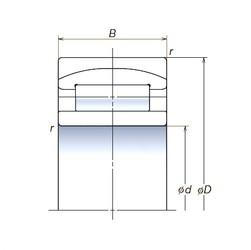 190 mm x 340 mm x 120 mm  NSK 190RUB32APV spherical roller bearings