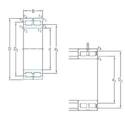 240 mm x 320 mm x 80 mm  SKF NNC4948CV cylindrical roller bearings