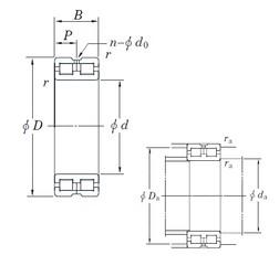 240 mm x 320 mm x 80 mm  KOYO DC4948AVW cylindrical roller bearings