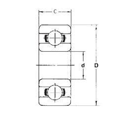 5 mm x 13 mm x 4 mm  FBJ 695 deep groove ball bearings