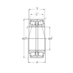 NTN 413128 tapered roller bearings