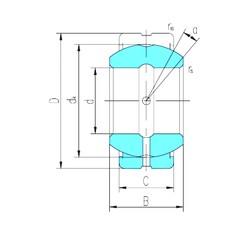 45 mm x 68 mm x 32 mm  LS GE45ES-2RS plain bearings