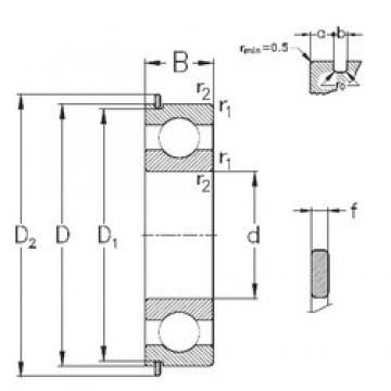 100 mm x 180 mm x 34 mm  NKE 6220-Z-N deep groove ball bearings