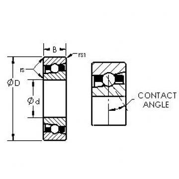 AST H71922C/HQ1 angular contact ball bearings