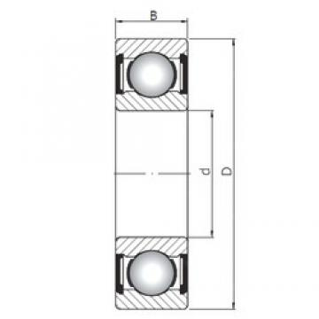 55 mm x 72 mm x 9 mm  ISO 61811 ZZ deep groove ball bearings