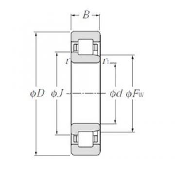 90 mm x 225 mm x 54 mm  CYSD NJ418 cylindrical roller bearings