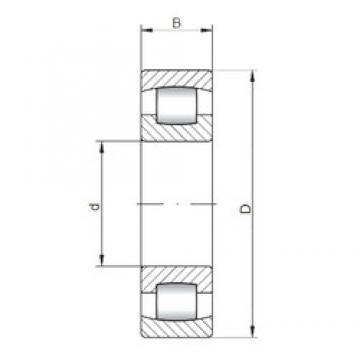 100 mm x 180 mm x 34 mm  ISO 20220 spherical roller bearings