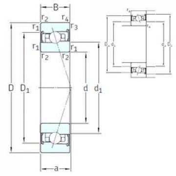 110 mm x 150 mm x 20 mm  SNFA HB110 /S/NS 7CE1 angular contact ball bearings