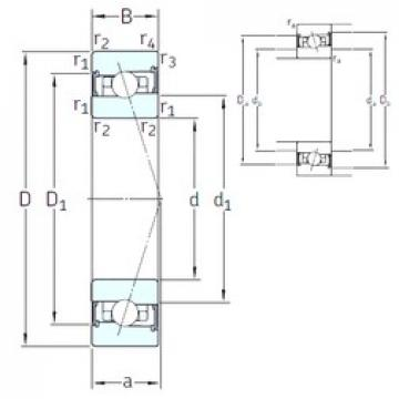 110 mm x 150 mm x 20 mm  SNFA HB110 /S/NS 7CE3 angular contact ball bearings