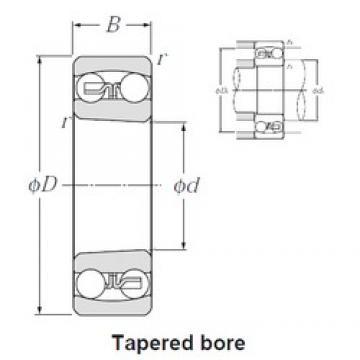 80 mm x 170 mm x 39 mm  NTN 1316SK self aligning ball bearings