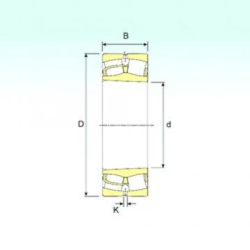 80 mm x 170 mm x 39 mm  ISB 21316 K spherical roller bearings