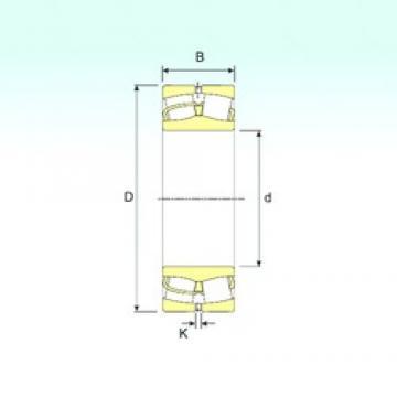 340 mm x 580 mm x 190 mm  ISB 23168 spherical roller bearings