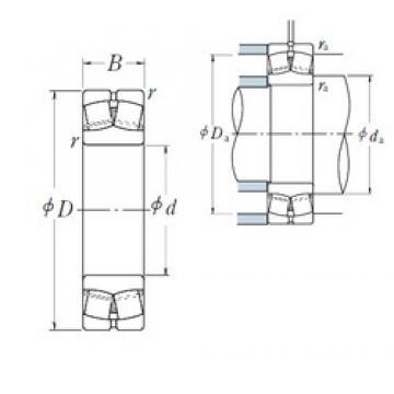 75 mm x 160 mm x 37 mm  NSK 21315EAE4 spherical roller bearings