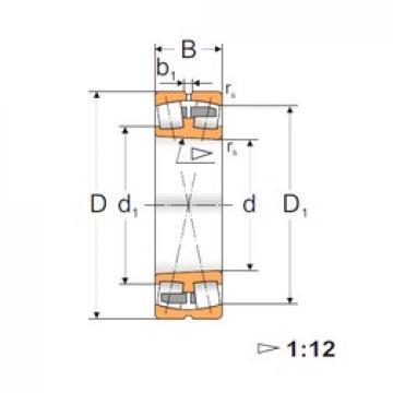 140 mm x 225 mm x 68 mm  FBJ 23128K spherical roller bearings