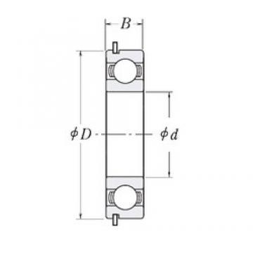 55 mm x 72 mm x 9 mm  CYSD 6811NR deep groove ball bearings