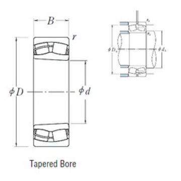 190 mm x 340 mm x 120 mm  NSK 23238CKE4 spherical roller bearings