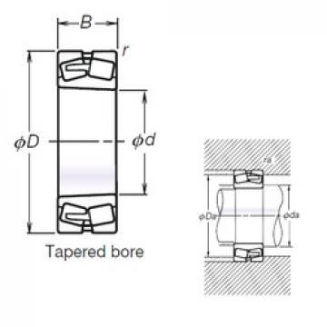 260 mm x 440 mm x 144 mm  NSK TL23152CAKE4 spherical roller bearings