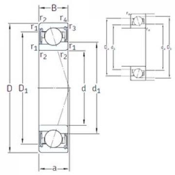 110 mm x 150 mm x 20 mm  SNFA VEB 110 /S/NS 7CE1 angular contact ball bearings