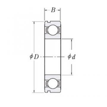110 mm x 150 mm x 20 mm  CYSD 6922N deep groove ball bearings