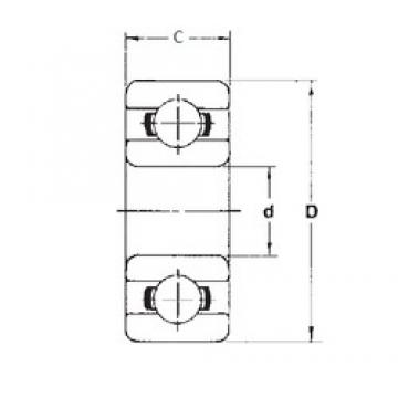 5 mm x 13 mm x 4 mm  FBJ 695ZZ deep groove ball bearings