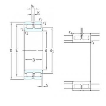 240 mm x 320 mm x 80 mm  SKF NNCL4948CV cylindrical roller bearings