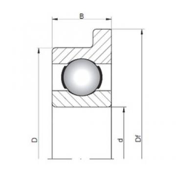 5 mm x 13 mm x 4 mm  Loyal FL619/5 deep groove ball bearings