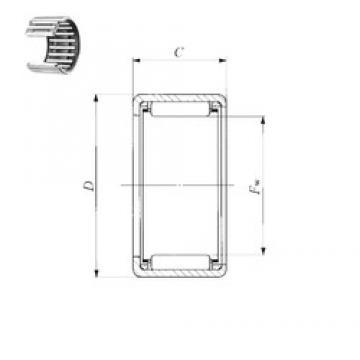 IKO TLA 4520 Z needle roller bearings