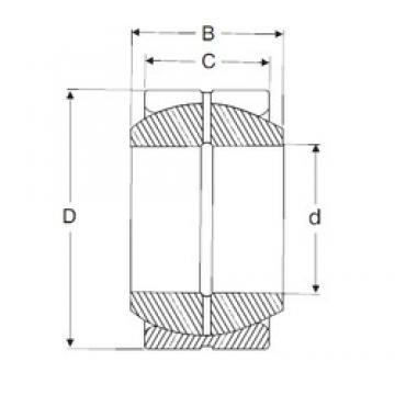 45 mm x 68 mm x 32 mm  SIGMA GE 45 ES plain bearings
